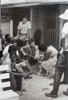 Dylan - July '63 by Danny Lyon bobs, bob dylan, 1963, black histori, danni lyon