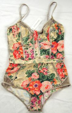 ⛄ New Zimmermann Anthropologie Corsetiere Maillot One Piece Swimsuit 3 US 10   eBay
