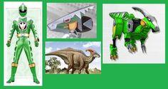 Green Dino Thunder Ranger by on DeviantArt Dino Rangers, Pawer Rangers, Power Rangers Cosplay, New Power Rangers, Green Power Ranger, Power Rangers Megazord, Go Busters, Power Star, Hero Time