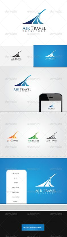 Buy Air Travel Transport Logo by CaptainVishal on GraphicRiver. Air Travel Transport Logo Useful logo template for air travels,transportation and tourism related business. Travel Agency Logo, Travel Logo, Air Travel, Travel Trip, Logo Design Template, Logo Templates, Airport Logo, Logistics Logo, Lab Logo