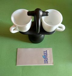 Small Coffee Maker, White Cups, Espresso Cups, The Duff, Industrial Design, How To Find Out, Etsy Shop, Cosmetics, Box