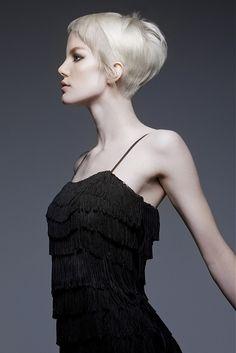 Van Michael short blonde Hairstyles