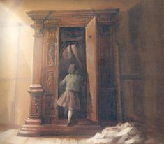 Narnia Pictures and Artwork from around the Net - Narnia Fans Narnia Wardrobe, Wardrobe Doors, Narnia Costumes, Chronicles Of Narnia Books, Lucy Pevensie, White Witch, Magical Creatures, Winter Wonderland, Fairy Tales