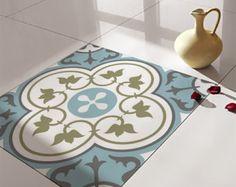 Boden Fliesen Decals / Aufkleber, Vinyl Decals, Vinyl Boden, selbstklebend, Fliesenaufkleber, dekorative Fliesen, Bodenbelag, nr. 178
