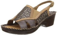 Ariat Women's Del Ray Wedge Sandal,Bittersweet,9.5 M US ** Details can be found by clicking on the image.