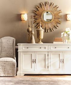 Bufford Cabinet - Buffet - Sideboard | HomeDecorators.com