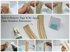 Learn the methods used for tape in hair extensions. On line training provided, no travel required!