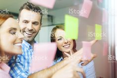 Group of corporate people working on new project royalty-free stock photo