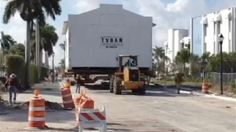 Florida synagogue hit the road in February 2012!  Video: http://www.wpbf.com/Palm-Beach-County-s-Oldest-Synagogue-Moves/-/8789538/9255246/-/kafag8z/-/index.html  Article: http://articles.sun-sentinel.com/2012-02-29/news/fl-temple-beth-israel-moves-story-20120227_1_oldest-synagogue-conservative-congregation-historic-landmark