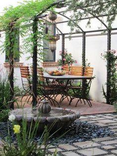 Mediterranean Patio Design Ideas - http://www.decorhomeideas.com/mediterranean-patio-design-ideas/