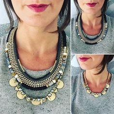 shop necklace now at http://www.stelladot.com/jenniferfinger