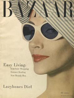 Harper's Bazaar Cover by Alexey Brodovitch