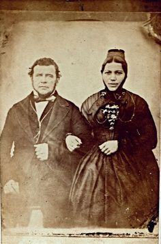 Victorian Husbands and Wives: 50 Amazing Vintage Studio Photos of Couples from between the 1850s and 1890s