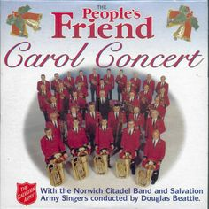 CAROL CONCERT - NORWICH CITADEL BAND & SALVATION ARMY SINGERS / DOUGLAS BEATTIE #Christmas Christmas Cds, Joy To The World, Rock And Roll, Singers, Army, Band, Concert, Gi Joe