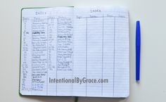 How I Bullet Journal! The complete rundown plus a video tutorial taking you through my bullet journal! She makes an index so she can find things!