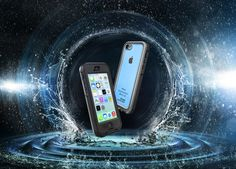 LIFEPROOF: iPhone 5c COLORS on Behance Apple Launch, Make A Case, Advertising Photography, Light Painting, Iphone 5c, Photo Manipulation, Store Design, Product Launch, Behance