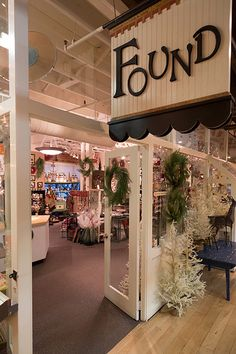 Found is a vintage, artisian, and eco-funky shop located inside Kerrytown Market & Shops. This whimsical store features found, vintage items from nationally recognized and local artists.