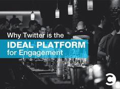 Why is the Ideal Platform for Engagement Social Media Marketing Business, Digital Media Marketing, Marketing Communications, Content Marketing Strategy, Social Media Quotes, Social Media Tips, Media Communication, Twitter Tips, Pinterest Marketing