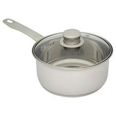 Stainless steel saucepan is strong, easy to clean, does not chip or rust, and is dishwasher harmless.