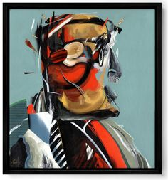 Dave Kinsey American contemporary artist, is known for his paintings and murals emotional.