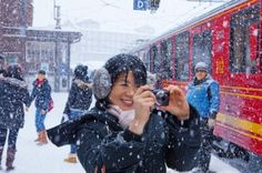 Fare una foto! in Svizzera.