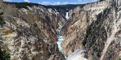 Canyon Village Area - View the Grand Canyon of the Yellowstone from Artist's Point