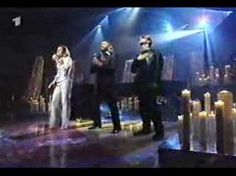 Celine Dion and The Bee Gees singing Immortality. The Bee Gees wrote this song for her and they all three wept the first time they heard her sing it.