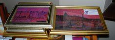 """Honfleur en rose"" di Alice Prin e ""Paris en rose"" di Cristina Contilli..."