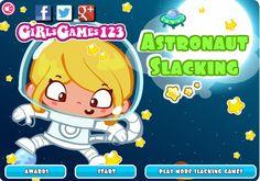 Sara jest astronautką i ma dosyć nudnego naprawiania rakiety. Czas wykonać kilka fajnych aktywności! Uważaj tylko, by nikt nie widział! http://www.ubieranki.eu/gry/3721/sara-w-kosmosie.html