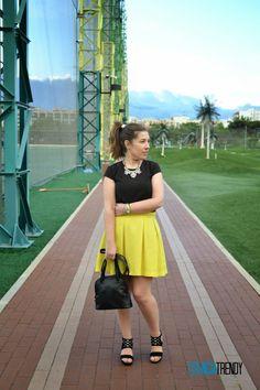 Look Bright Yellow #Loewe #Pimkie #hm #AntonioParriego