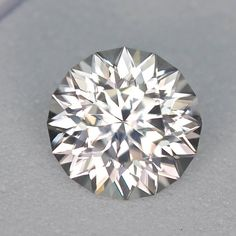 MJ121 - 2.83ct white Zircon - Cambodia 7.83 x 5.44 mm clean, custom cut, remarkable brilliance, photos and video do no justice to this gem! $245 shipped