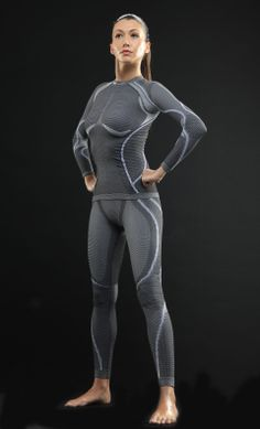 ERGORACING is a close-fitting stretchy shell developed by the technicians of the Accapi Laboratory to protect and support the body in competition and in all sports that subject it to strong active or passive stress such as vibrations and jolts.