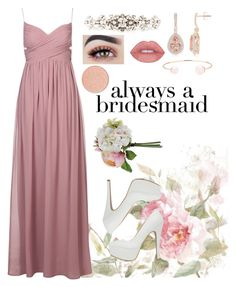 """""""Always a bridesmaid"""" by amamcculloch ❤ liked on Polyvore featuring Qupid, Dolce&Gabbana and Ted Baker"""