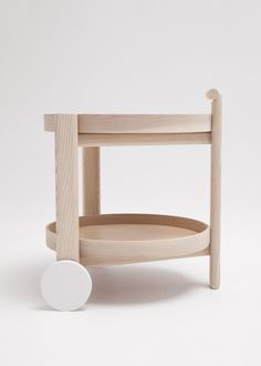 Bar Cart is a minimalist design created by Canada-based designer Thom Fougere Studio.