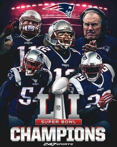 My Patriots are SUPERBOWL 51 CHAMPIONS!!!!!