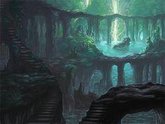 Jungle Concept by ~allisonchinart on deviantART