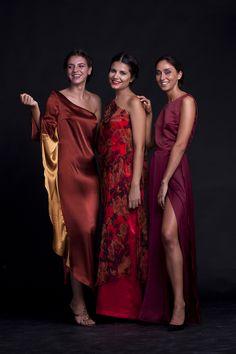 Vestidos de seda natural que convierten tu look de fiesta en el centro de todas las miradas