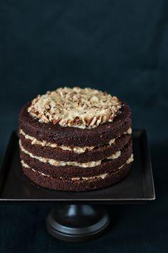 German Chocolate Cake via @HungryRabbitNYC