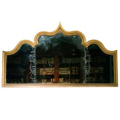 1stdibs.com | A rare early 18th Century giltwood overmantle. Circa 1725.