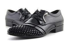 sapato social casual masculino importado preto