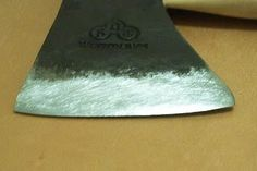 axe sharpening guide, very helpful to fully understand how... and more importantly, Why.