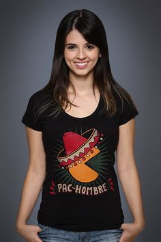 Camiseta Pac-Hombre