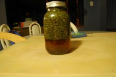 Herbal Multivitamin Tincture Recipe, glycerin base not alcohol (be sure the glycerin is organic or it'll more than likely be genetically modified)