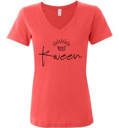 Are you striving for Greatness? This Kween Signature V... will keep you energized and inspired! Get yours now at http://impowerapparel.com/products/kween-signature-v-neck-t-shirt-1?utm_campaign=social_autopilot&utm_source=pin&utm_medium=pin