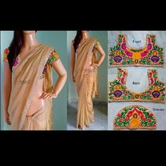 tollywood kutch work sarees - Google Search