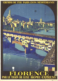 Florence. 1921 Roger Broders