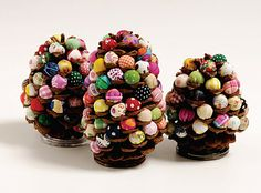 Pine Cone Crafts- at least 10  from 2 little hooligans blog