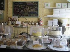 Inside a Bakery   The ambiance and decor of the shop exudes warmth and charm. Replete ...