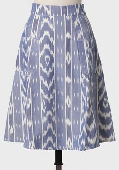 Arts And Crafts Skirt By Mata Traders   Modern Vintage New Arrivals
