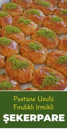 Source by lezizyemeklerim Easy Summer Desserts, Summer Dessert Recipes, Delicious Cake Recipes, Yummy Cakes, Yummy Yummy, Indian Desserts, Indian Food Recipes, Cuisinart Ice Cream Recipes, Matcha Dessert